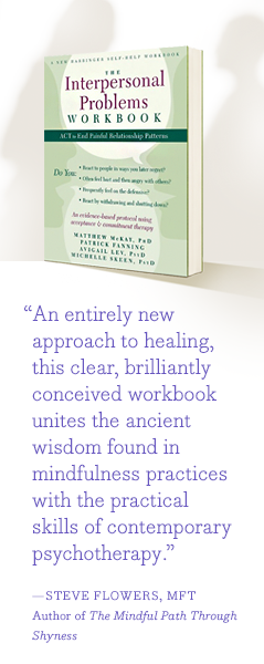 """An entirely new approach to healing, this clear, brilliantly conceived workbook unites the ancient wisdom found in mindfulness practices with the practical skills of contemporary psychotherapy."" —Steve Flowers MFT, Author of ""The Mindful Path Through Shyness"""